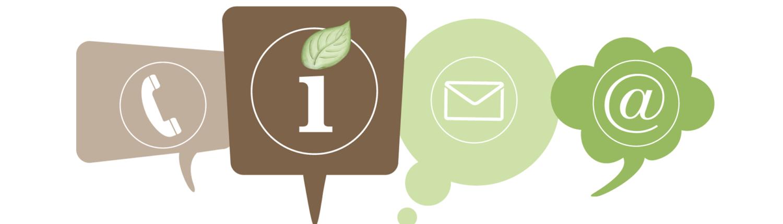 Email-Telefon-Brief viele Kontaktmöglichkeiten zu Promovierte